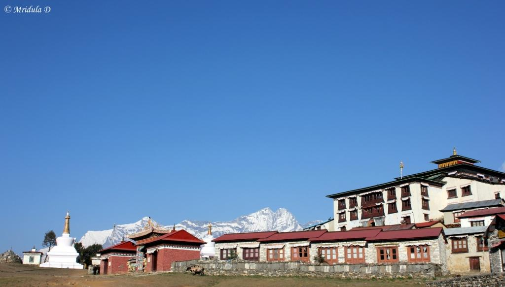 The Monastery at Tengboche, EBC, Nepal