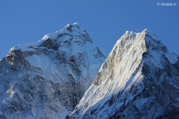 Ama Dablam at Dengboche, Everest Base Camp Trek, Nepal