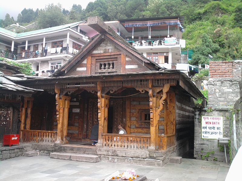 A Temple in Manali (creative-commons picture)