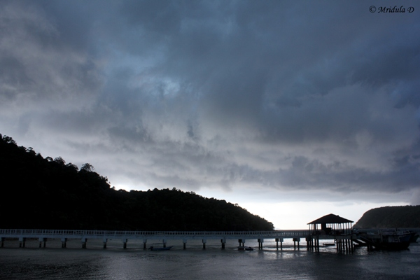 The Jetty at the Redang Island, Malaysia