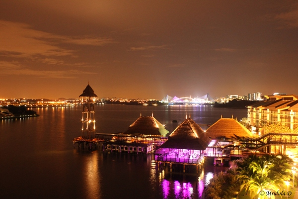 Night View from the Pullman Lakeside, Putrajaya, Malaysia