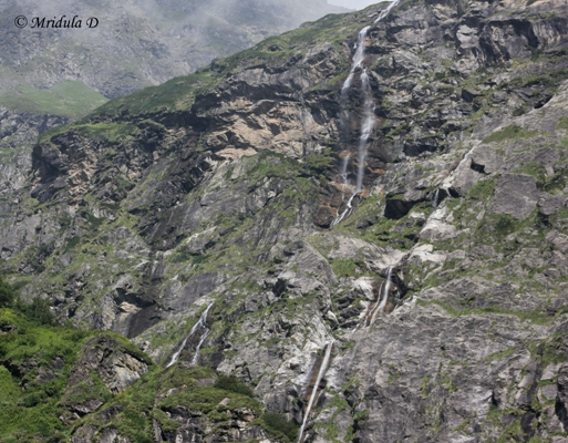 Waterfalls at Valley of Flowers, Uttarakhand