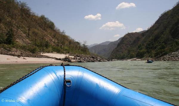 The Calm Stretch, Rafting on the Ganges, Uttarakhand
