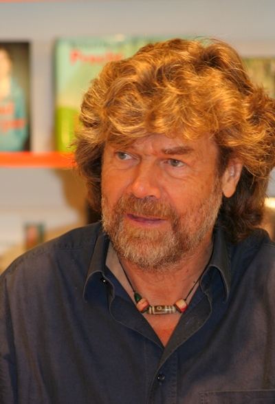 Reinhold Messner in 2009, Creative Common Pic by A. Savin