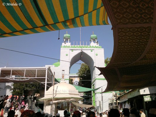 Inside the Dargah, Ajmer Sharif, Rajasthan