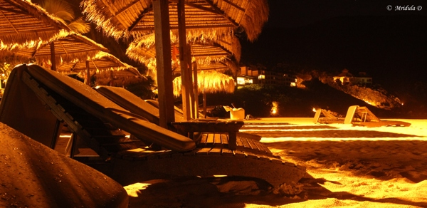 The Beach at the Taaras at Night, Redang, Malaysia