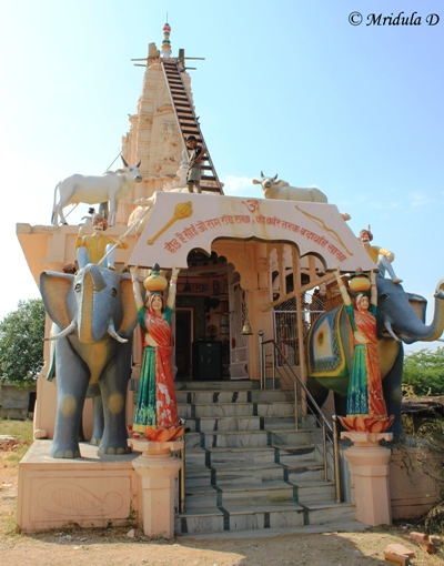 The Local Temple, Lakshman Sagar, Pali, Rajasthan