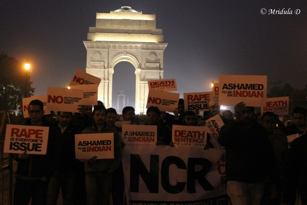 India Gate Protests, Delhi