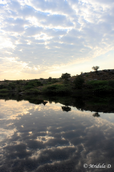 Reflections in the Lake, Lakshman Sagar, Rajasthan