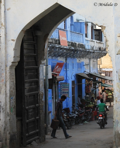 The Narrow Bazaar Lanes, Raipur, Pali, Rajasthan