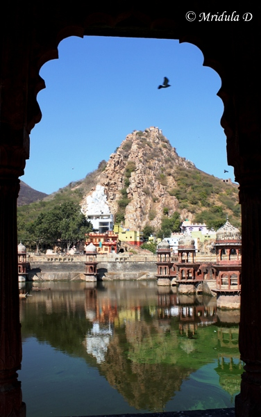 An Arch and a Reflection, City Palace, Alwar, Rajasthan