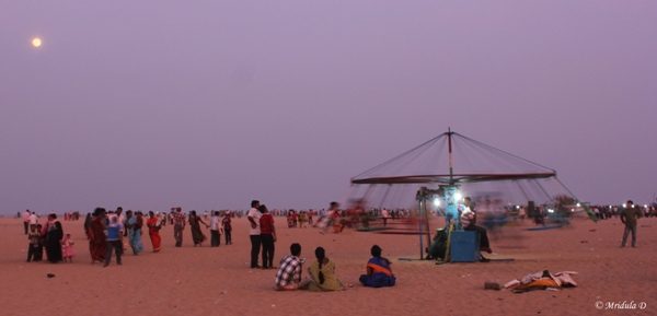 Merry Go Round at Marina Beach, Chennai