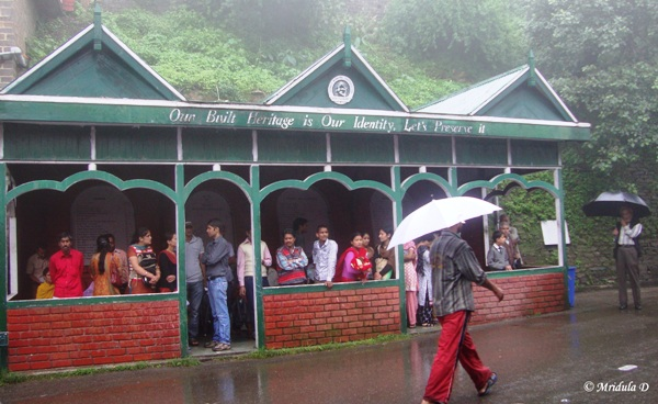 Shimla on a Rainy Day