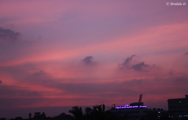 Twilight at Chennai, Tamil Nadu, India