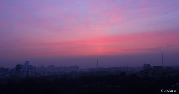 Dawn at Noida