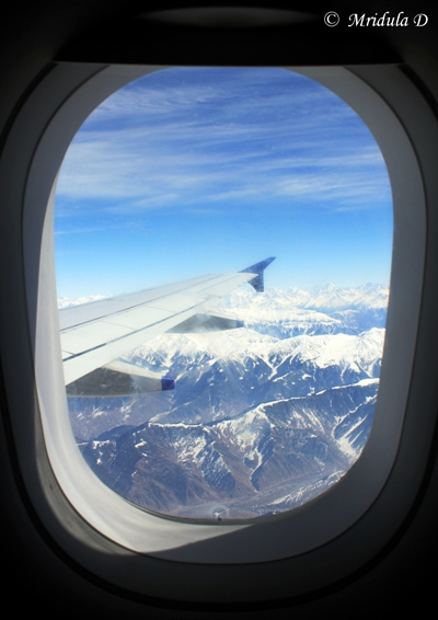 Approach to Srinagar Airport, Jammu & Kashmir, India