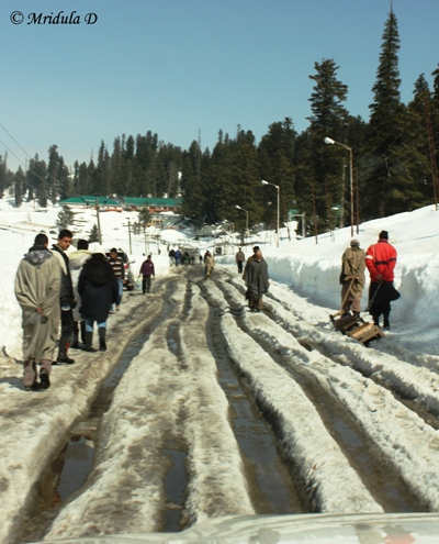Roads at Gulmarg, Kashmir