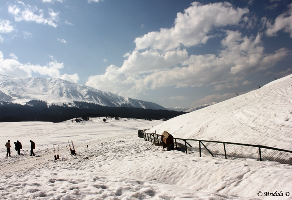 The Golf Course at Gulmarg, March 2013