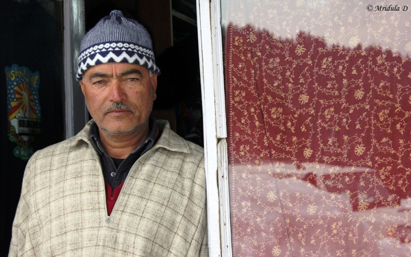 The Shopkeeper at Gulmarg, Kashmir, India