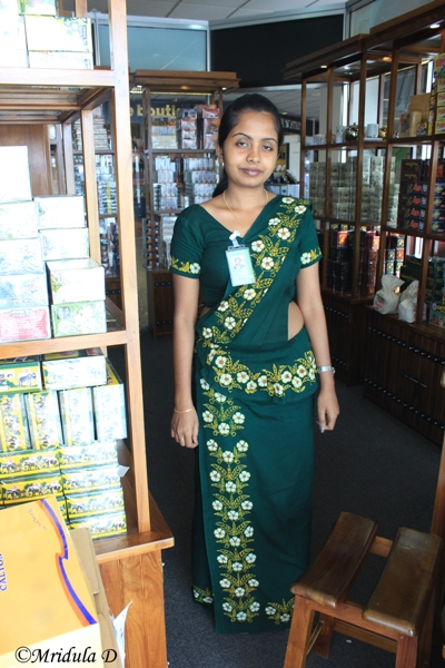 Sri Lankan Saree