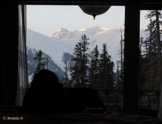 The Mountain in my Room, The Khyber, Gulmarg
