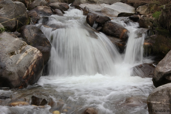 A Waterfall near Prini, Himachal Pradesh