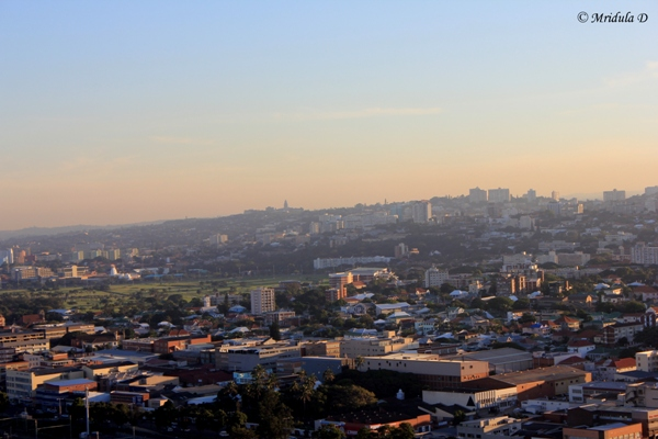 Durban City, Another View from Moses Mabhida Stadium