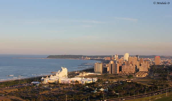 Durban City from the Viewing Platform, Moses Mabhida Stadium, Durban