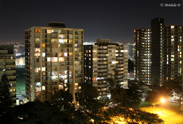 Durban at Night, South Africa