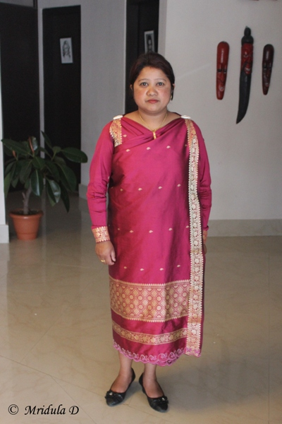 Meghalaya dress name with images