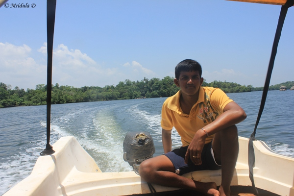 Prakash, The Boatman at Koggala Lake, Sri Lanka