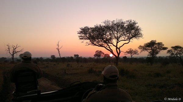 Sunset, Manyeleti Game Reserve, South Africa