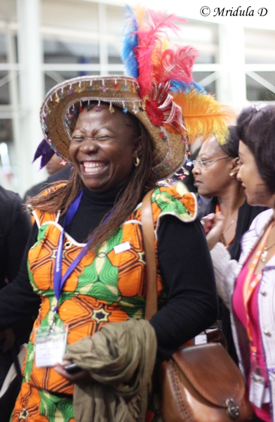 The Smile Says it All! INDABA 2013, Durban
