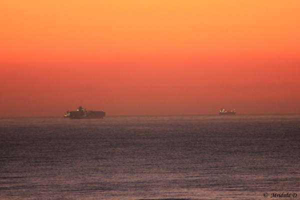 Dawn at Durban, South Africa