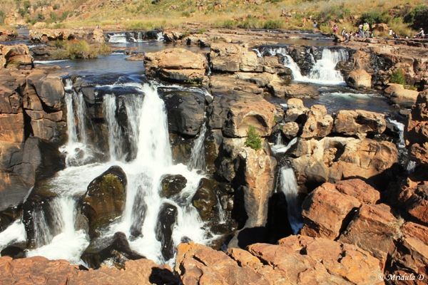 The Waterfall at the Bourke's Potholes, Panorama Route, South Africa
