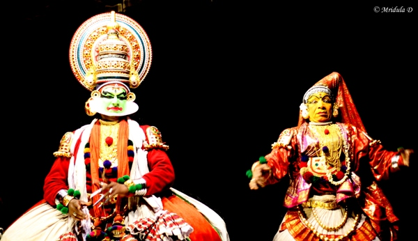 A Kathakali Performance, Greenix Village, Kochi, Kerala