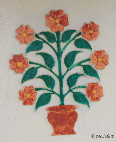Decoration on the Village Temple, Old Dhanachuli, Uttarakhand