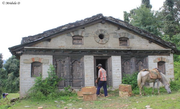 An Old House at Dhanachuli Village, Uttarakhand