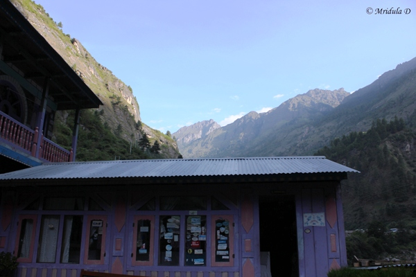 Green Park Lodge at Dharapani, Annapurna Circuit Trek, Nepal