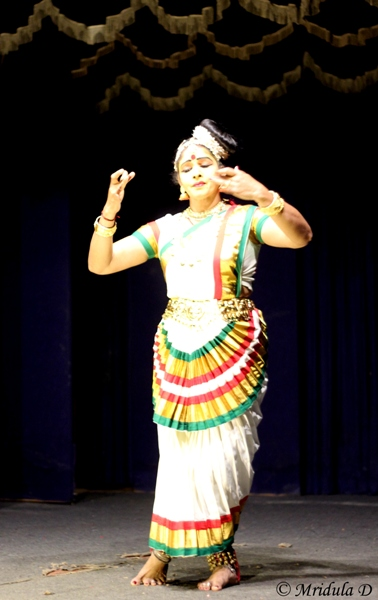 Mohiniyattam at Greenix Village, Kochi, Kerala
