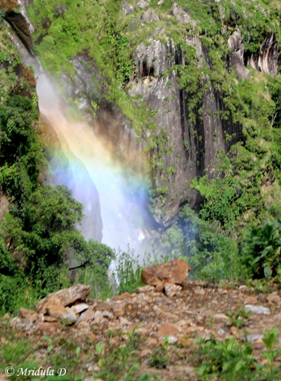 Rainbow Colors, Chamche, Annapurna Circuit Trek, Nepal