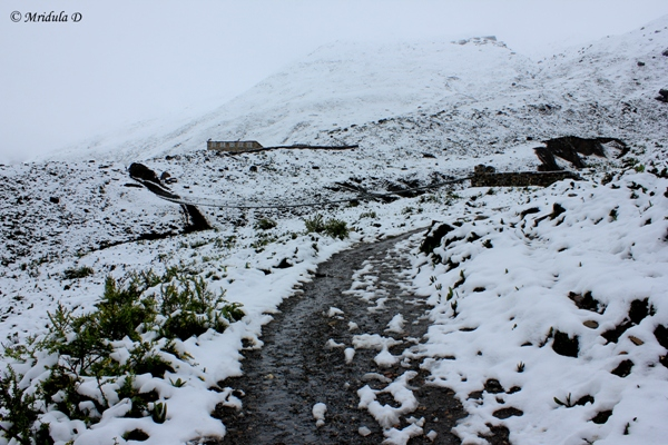 Snow at Letdar, Annapurna Circuit Trek, Nepal