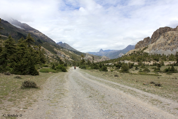 The Road to Manang, Annapurna Circuit Trek, Nepal