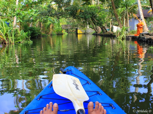 Visiting the Smaller Canals, Alleppey, Kerala
