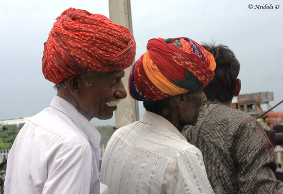 Colorful Rajasthani Turbans