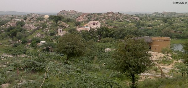 Lakshman Sagar in Monsoon