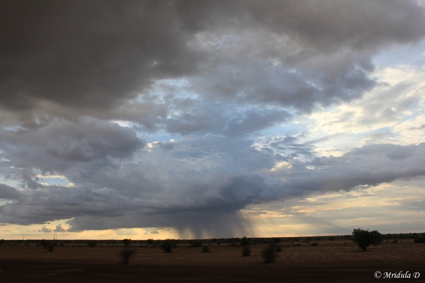Drama in the Sky, Jaisalmer, Rajasthan