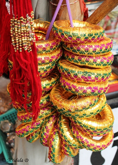 Glitter at the Pushkar Market, Pushkar, Rajasthan