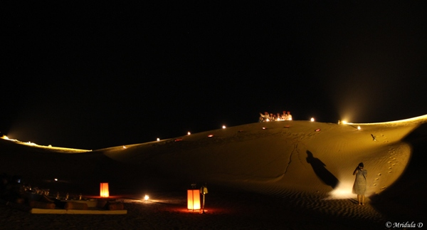 The Dinner at the Kanoi Sand Dunes