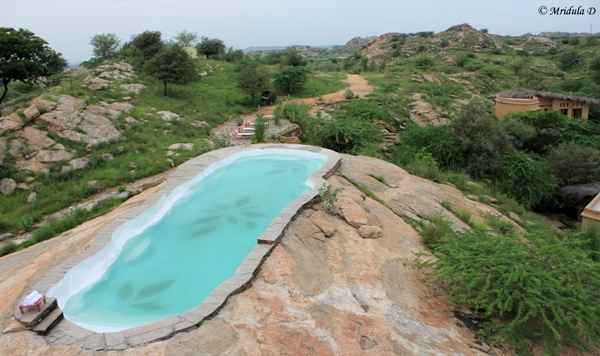 The Swimming Pool at Lakshman Sagar